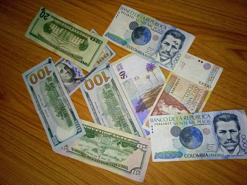 USD COP Billetes